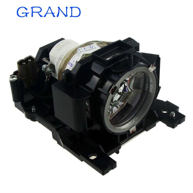 DT00891 Cserélhető lámpa házzal HITACHI CP-A100 CP-A100J CP-A101 ED-A110 ED-A100J projektorok HAPPY BATE