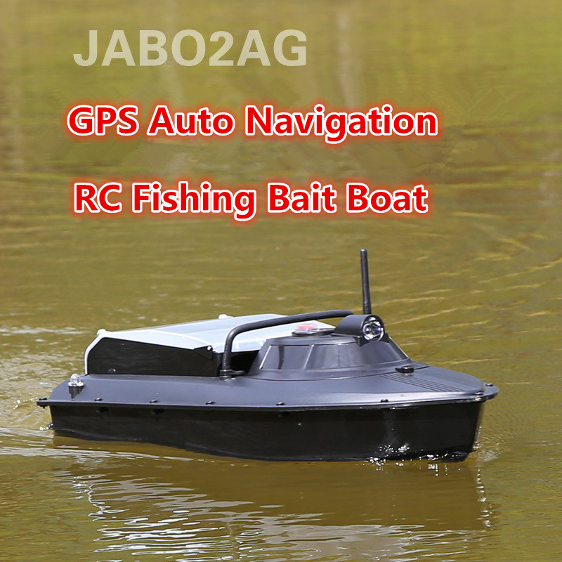 JABO 2AG 20A 2.4G GPS Navigation automatique appâts de pêche bateau nid plongeur bateau Double 380 moteurs automatique poisson appât RC bateau VS 2011-5