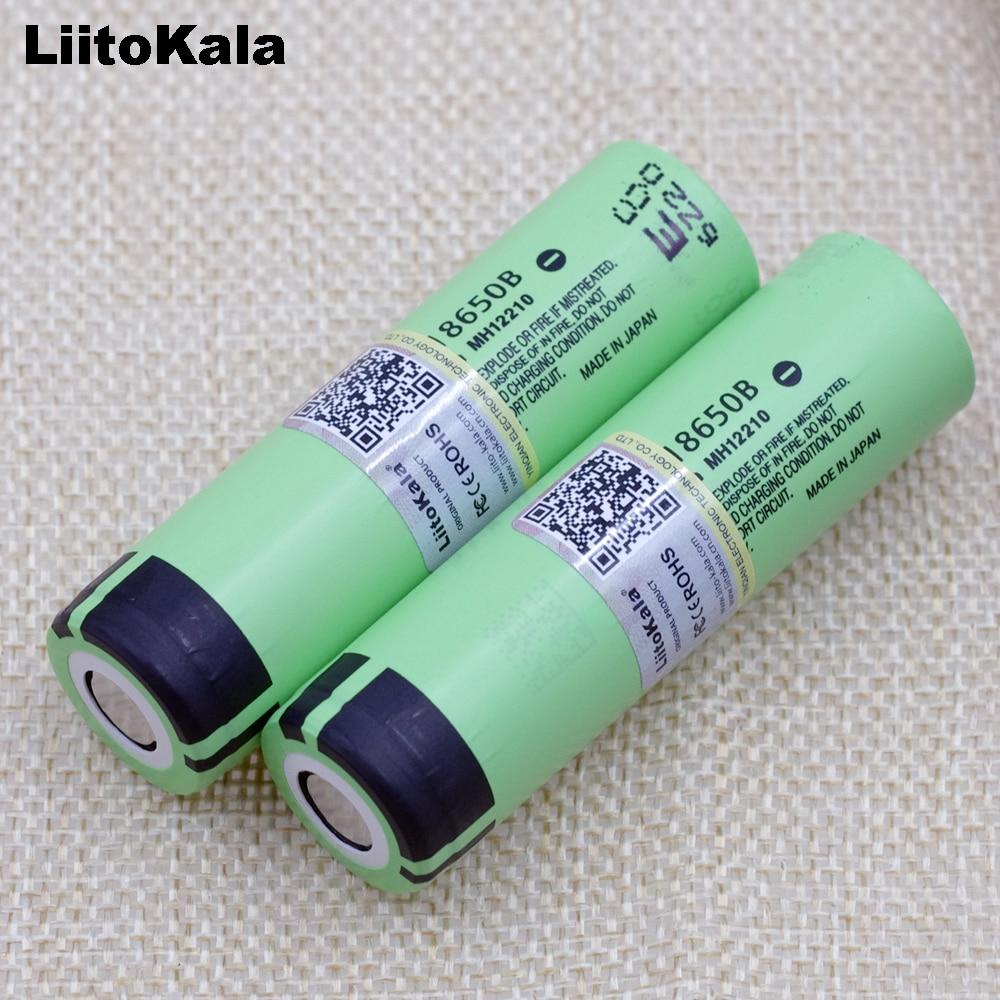 Liitokala 100% nouveau Original NCR18650B 18650 li-ion batterie Rechargeable 3400 mAh 3.7 V lampe de poche/utilisation de batterie externe