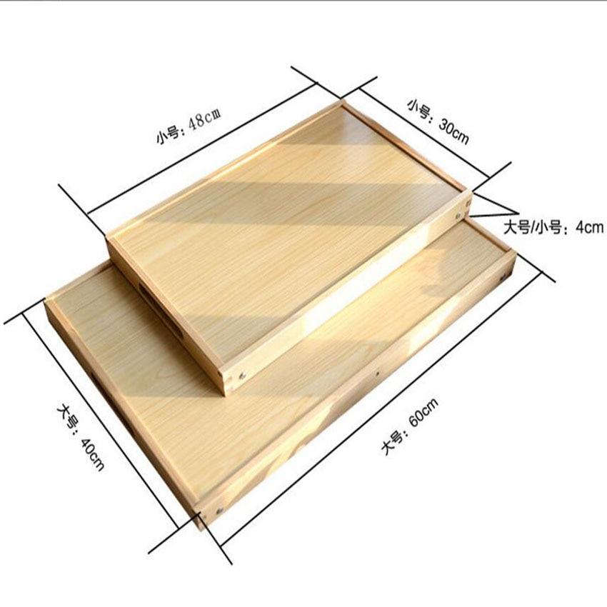 SUFEILE 2 Farben Holz Folding Laptop Tischständer Für Bett Tragbare Laptop Tisch  Faltbare Notebook Schreibtisch D5 In SUFEILE 2 Farben Holz Folding Laptop  ...