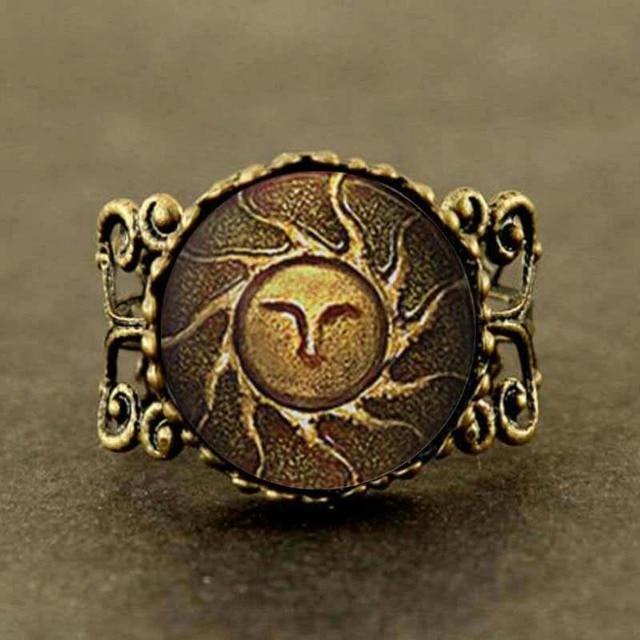 Aliexpress.com : Buy Qiyufang ring jewelry Heirs of the Sun Dark ...