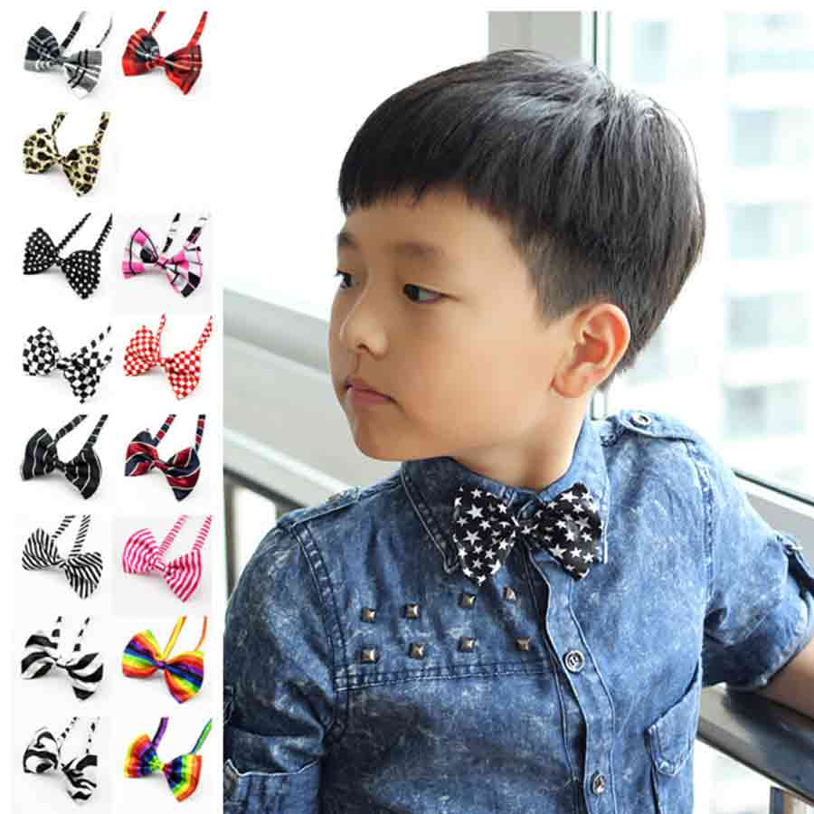 Sincere Factory Adjustable Students Kids Children Bow Tie Handmade Floral Print Butterfly For Tuxedo Party Birthday Holiday Neck Bows Non-Ironing