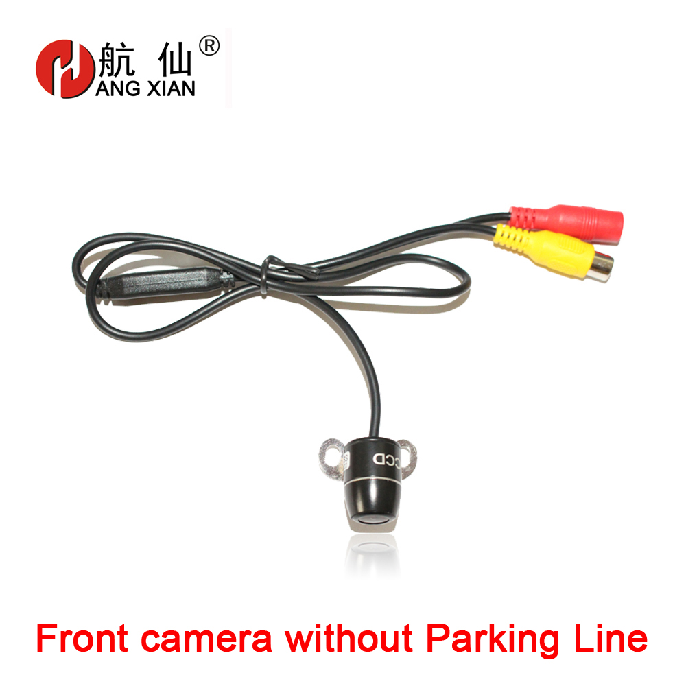 HANG XIAN 2019 HD CCD universal line car front view camera parking camera without