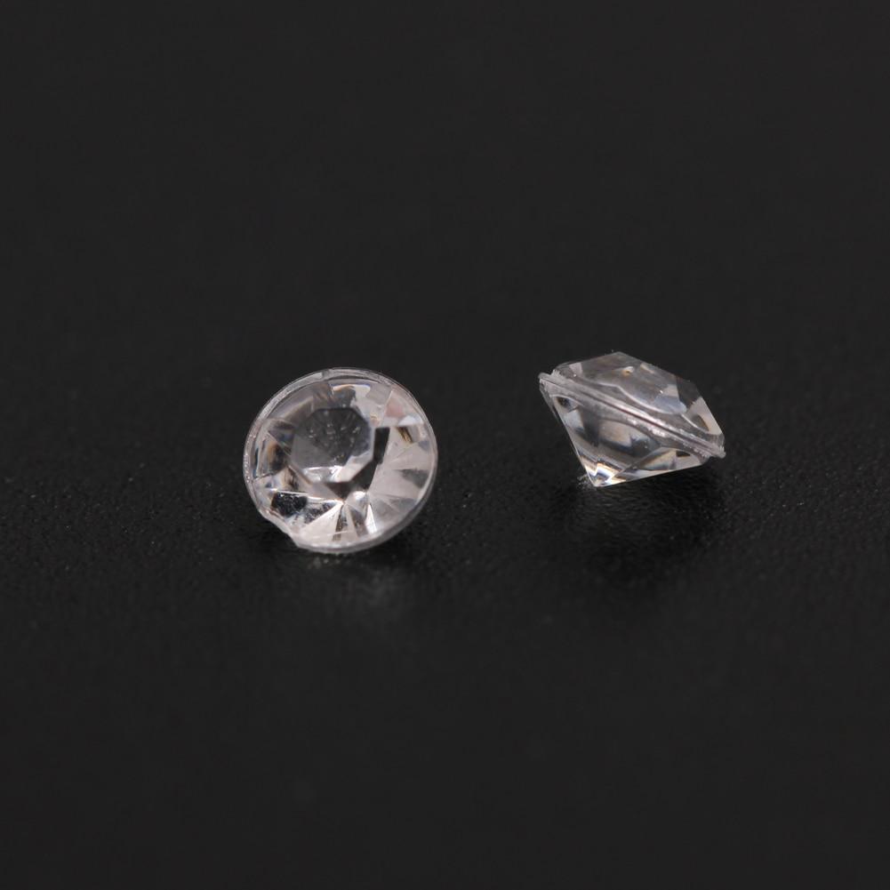 3D Crystal Clear Diamant Nail art Tipps Strass Dekorationen Hochzeit ...