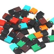 4 шт. пустые Сменные стручки для электронных сигарет JUU1 8 цветов манго/табак/CoolMint/ментол/огурец/крем-брюле