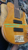 free shipping new Big John 5 strings electric bass guitar in natural with golden hardware 8.11