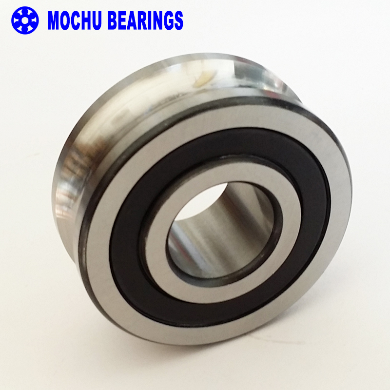 1PCS LFR5206-25NPP LFR 5206-25 NPP Track rollers double row angular contact ball bearings Gothic arch raceway groove lfr5206 20 npp groove track roller bearings lfr5206 size 25 72 25 8mm