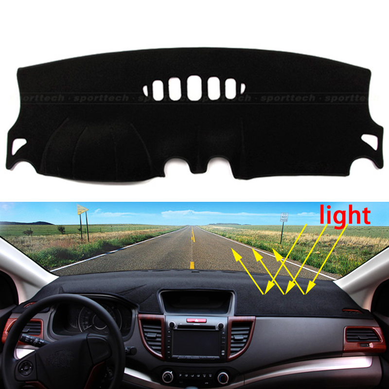 Car dashboard Avoid light pad Instrument platform desk cover Mats Carpets Auto accessories for Ford mondeo 2007 - 2016 special car trunk mats for toyota all models corolla camry rav4 auris prius yalis avensis 2014 accessories car styling auto