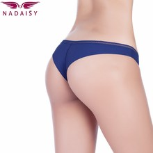 Nadaisy Sexy Panties Women Underwear Solid Low Rise Hipster Lingerie High Elastic Thong G String Ladies Tanga Plus Size S-XL