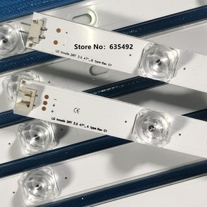 Image 4 - Yeni LED şerit 47LB5500 47LB6500 6916L 1948A 1949A 1961A 1962A 1779A 1780A LG47LY340C LG47GB651C 47LB570B 47LB5600 47LB5800