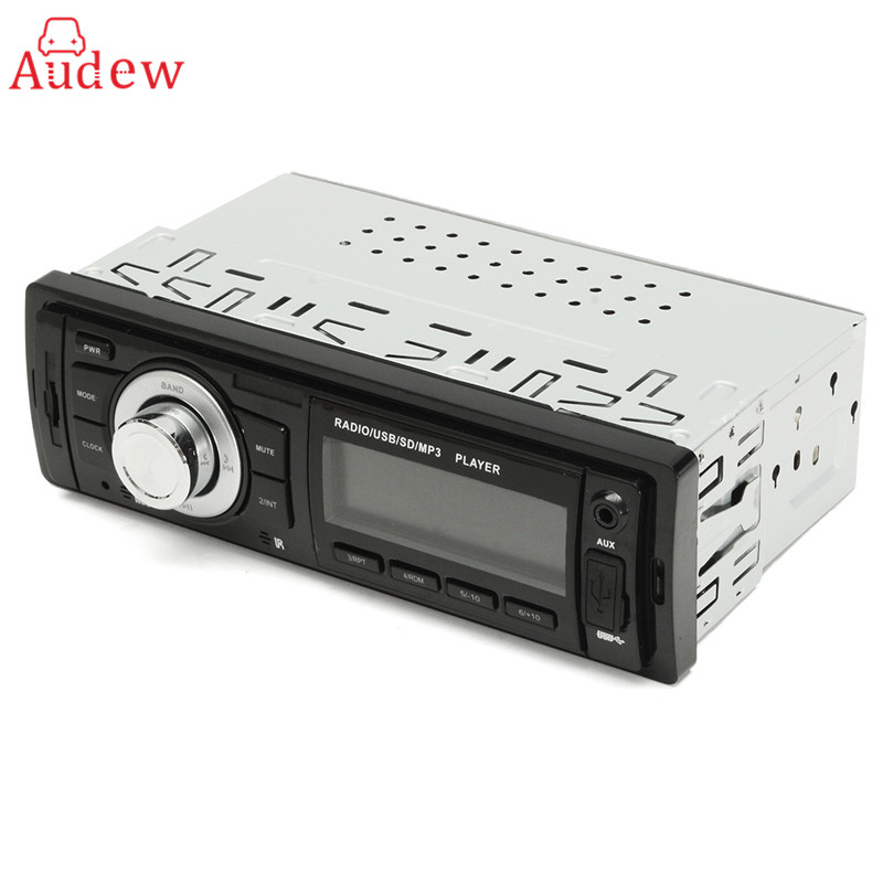 Buy Cheap Discount 12V 1 Din Car Audio Stereo In Dash Auto Car Radio