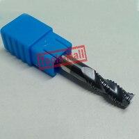 1pc 8mm Hrc45 D8 40 D8 100 3Flutes Roughing End Mills Spiral Bit Milling Tools Carbide