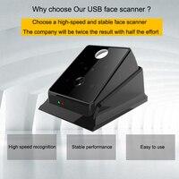 Eseye Биометрические USB лица Reader Сенсор сканер распознавания лиц Reader компьютер PC Офис Бесплатная SDK с Windows Linux
