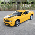 1:32 alloy cars,hornet  high simulation model, metal diecasts, toy vehicles, pull back & flashing & musical, free shipping
