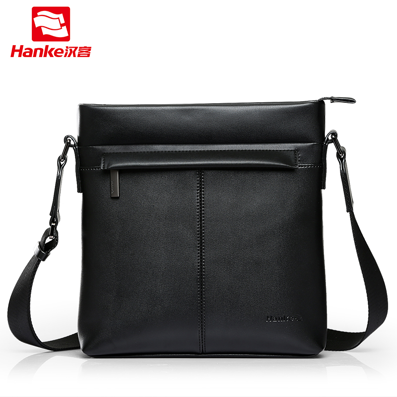 Hanke Men Crossbody Shoulder Bag Cow Split Leather Classical Messenger Bags Male Fashion Casual Business Travel Bags 2017 2016 new leather men bag classical messenger bag men fashion casual business shoulder handbags for men bag hot free shipping