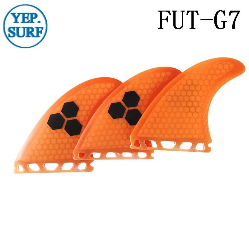 Surfing Paddling Ապագա Fins G7 նարնջագույն / - Ջրային մարզաձեւեր - Լուսանկար 6