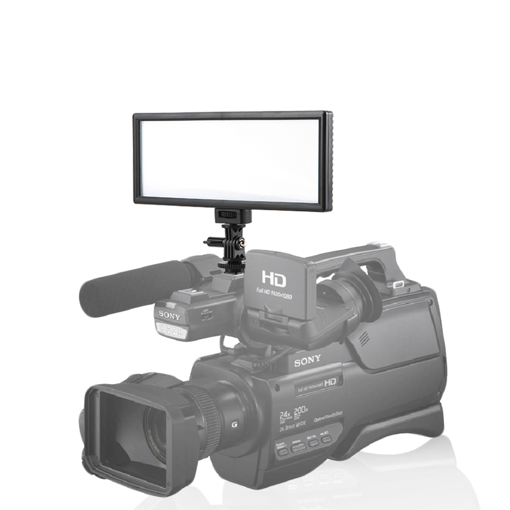 Image 5 - Viltrox L116B Camera Super Slim LCD Display Dimmable Studio LED  Video Light Lamp Panel for Camera DV Camcorder DSLR Photovideo light  lampled video light lampled video light