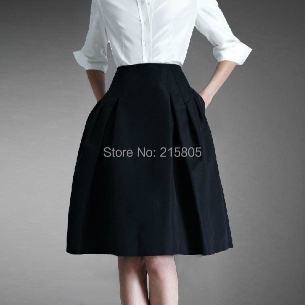 Knee Length Formal Skirts - Dress Ala