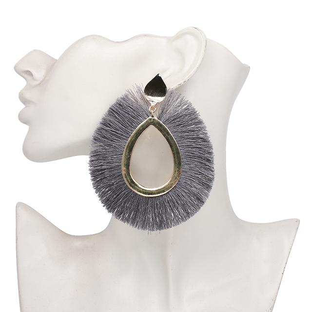 Boho Big Maxi Tassel Earrings