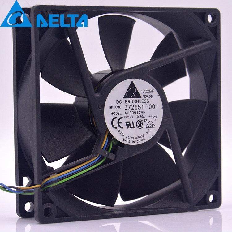 AD0912UX-A7BGL DC12V 0.50A 4-PIN//4-WIRE 90x90x25mm Case fan,Cooling Fan