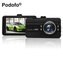 Оригинальный podofo dashcam видеорегистратор регистратор камера автомобиля DVRs FH07 Full HD 1080 P WDR g-сенсор ночного видения регистраторы видеорегистратор автомобильный