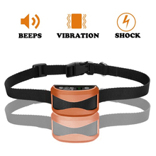 Anti Bark No Barking Collar Vibration Electric Shock Sound Automatic Collar For Pet Dogs IP7 Waterproof Dog Training Collars цена