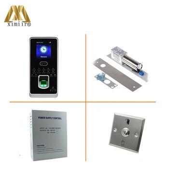 Haute qualité nouveauté biométrique contrôle d'accès par empreinte digitale tcp/ip Linux système visage contrôle d'accès Kit Multibio800|Kits de contrôle d'accès|Sécurité et Protection -