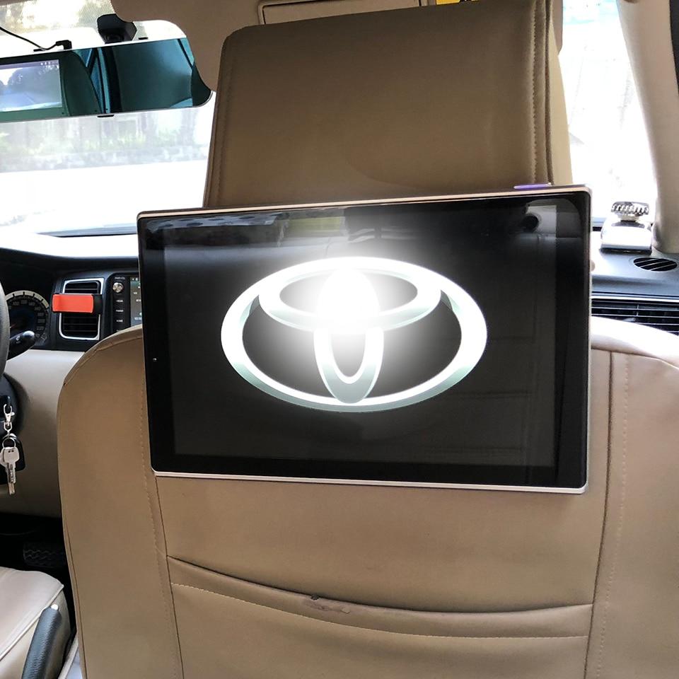 2 шт. 11,8 дюймов в автомобиль ТВ ЖК дисплей Android подголовник DVD с мониторы для 2019 Toyota Land Cruiser 200 заднего сиденья Развлечения