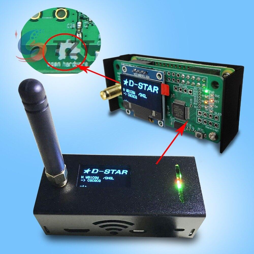 2018 partie de talkie-walkie à distance assemblé MMDVM Hotspot Support P25 DMR YSF + Raspberry pi + OLED Hotspot