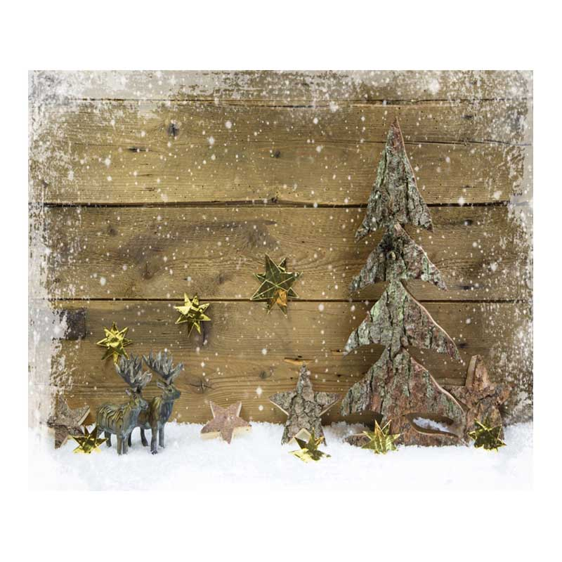 Wooden Plank Christmas Decor 7X5ft Vinyl Photography Backdrop for Baby Computer Printed Photographic Background For Photo Studio white rustic old wood plank texture backdrop vinyl cloth computer printed party photography studio background