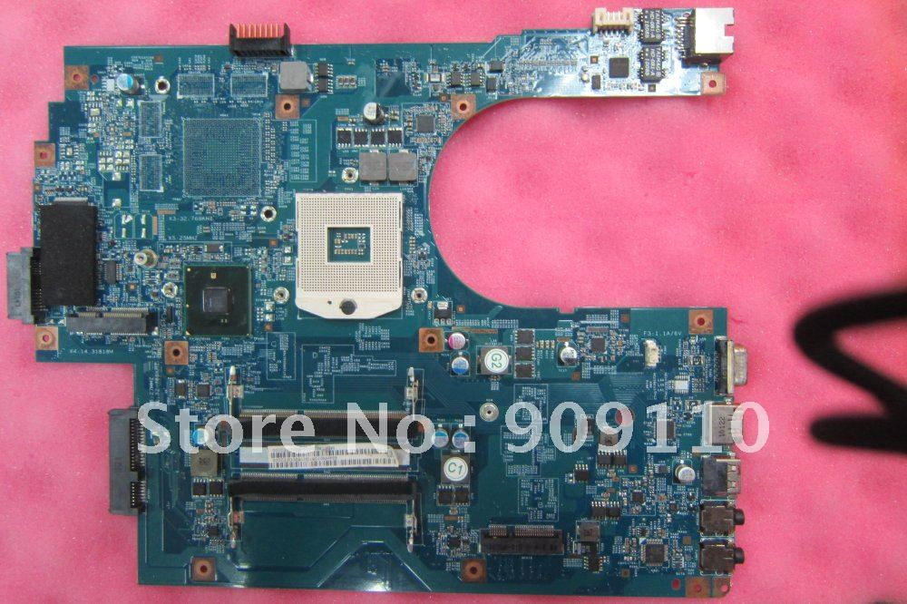 ФОТО 48.4HN010.1M  7741  integrated motherboard for A*cer laptop 7741 MBPT401001  /09923-1M
