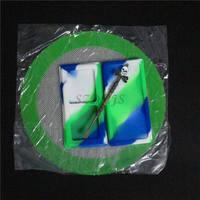 Череп силикона, воска/бутан/пиццы масло контейнер dab воск jar + Череп антипригарным Dabber dab инструмент + силиконовые формы для хэш Коврики pad