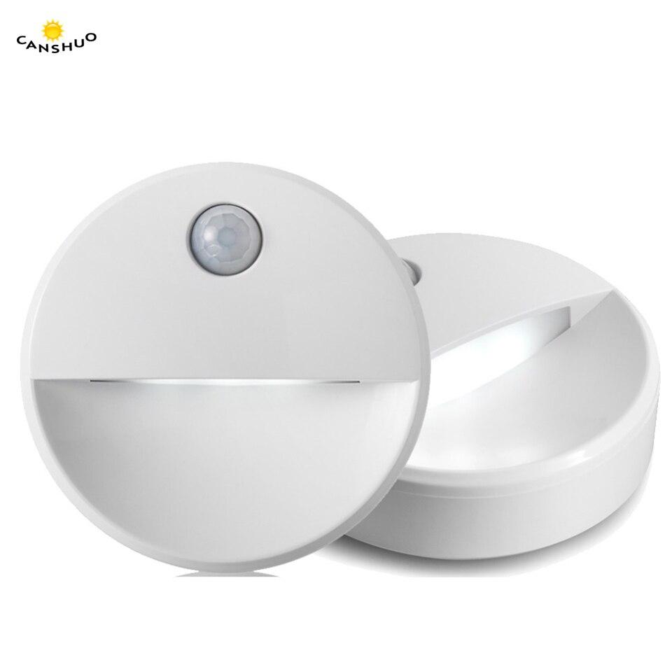 PIR Motion Sensor LED Novelty Lighting Sensitive Wall Ceiling Night Light Cabinet Lamp For Hallway Pathway 2led Novelty Lighting(China)