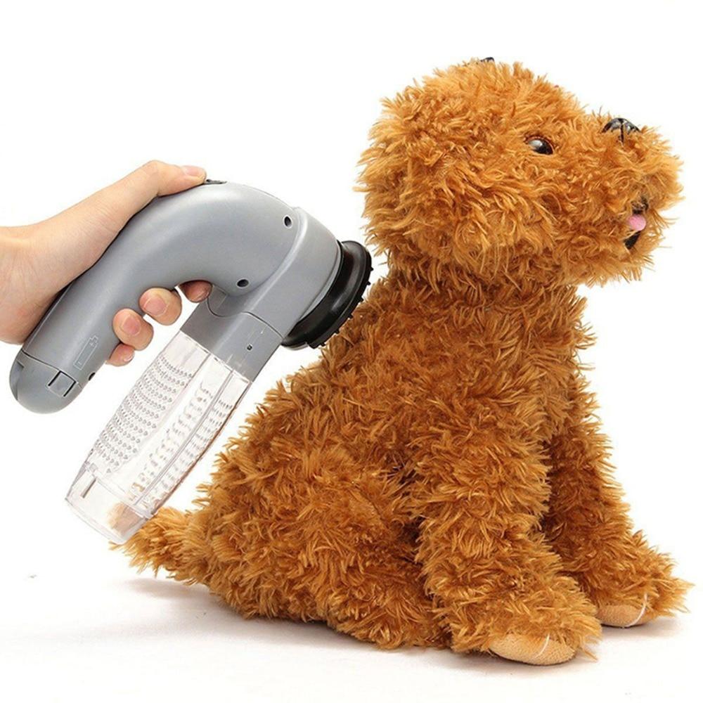 Augstas kvalitātes mājdzīvnieku kaķu suns matu kažokādu noņemšanas elektrisko suņu kopšanas birste trimmeris ķemme putekļsūcēju dzīvnieku matu aksesuāri rīki