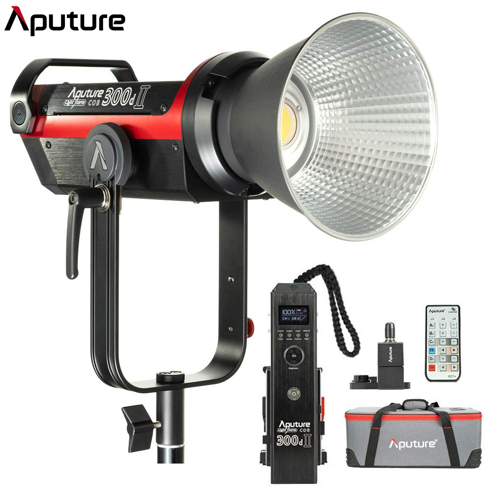Aputure LS C300d II 300d II LED Video Light COB Light 5500K Daylight With Bowens Mount Outdoor Studio Light Photography Lighting