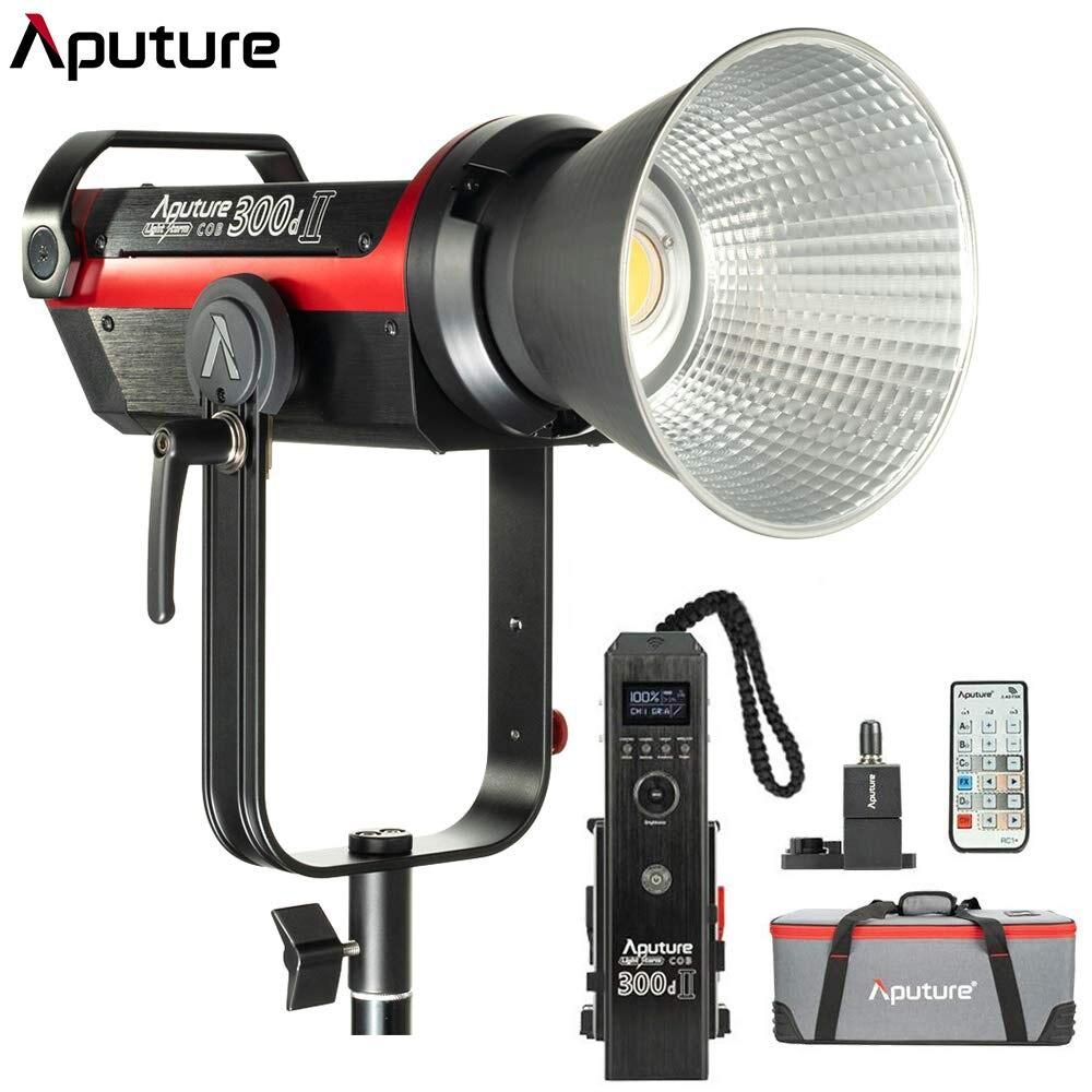 Aputure LS C300d II 300d II Luz de vídeo LED COB luz de día 5500 K con Bowens montaje Luz de estudio al aire libre iluminación de la fotografía