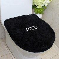 2PCS/set NEW super soft thicken carpet toilet seat cover bathroom mat toilet 2 piece set toilet sets warmer toilet potty pad set