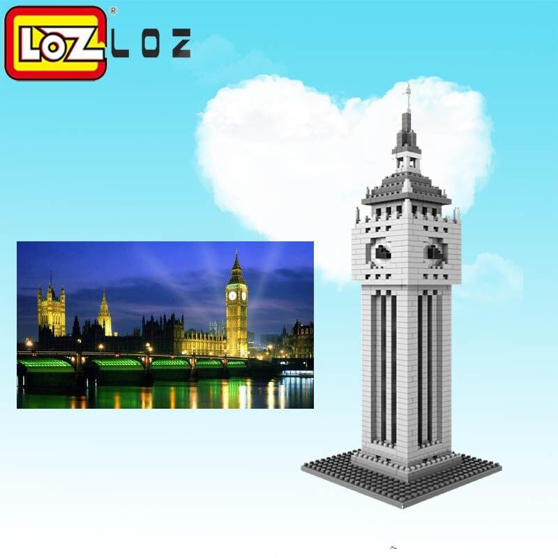 Aliexpress.com : Buy LOZ Elizabeth Tower Mini Block World
