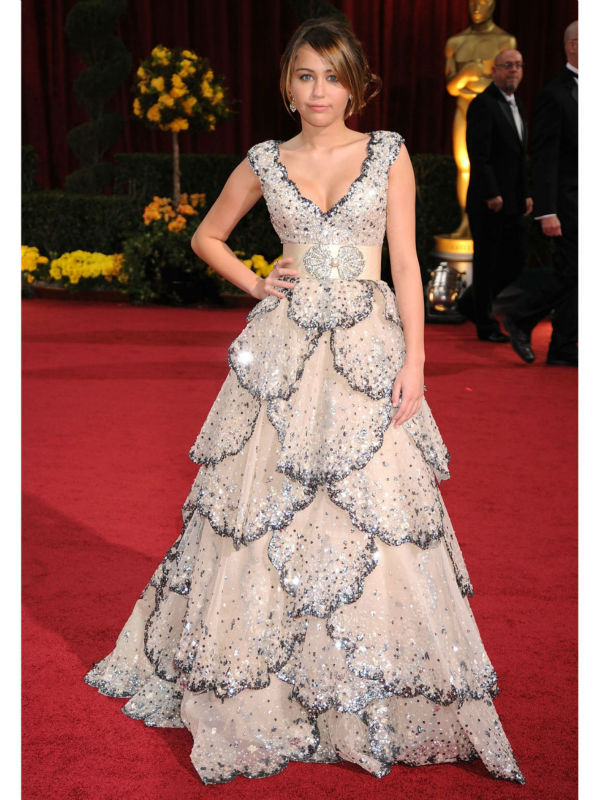 Online Buy Wholesale miley cyrus red carpet dresses from China ...