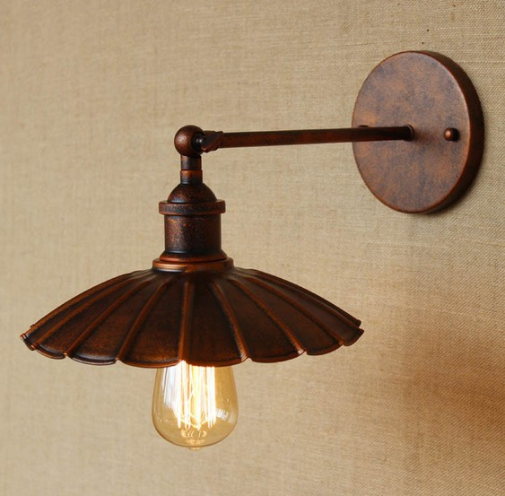 Antique Loft Style Edison Wall Sconces Vintage Wall Lamp Industrial Wall Light Fixtures For Home Lighting Lampe Murale цена
