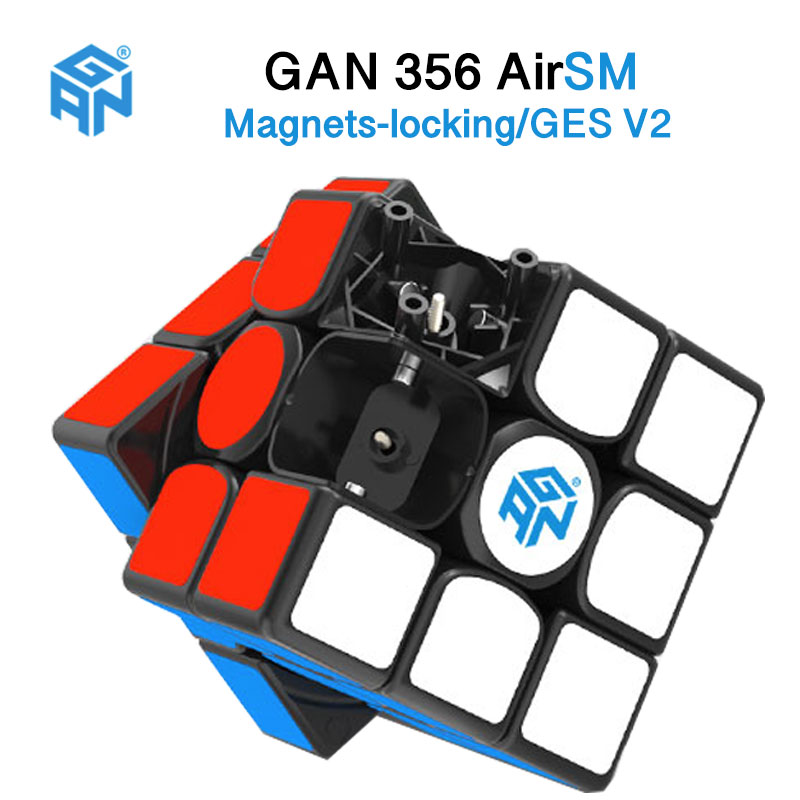 Original Gan 356 Air S/Gan356 Air SM With Magnets Speed Cube AirSM/356 AirS 3x3 Magic Cube Puzzle Learning Toys Drop Shopping