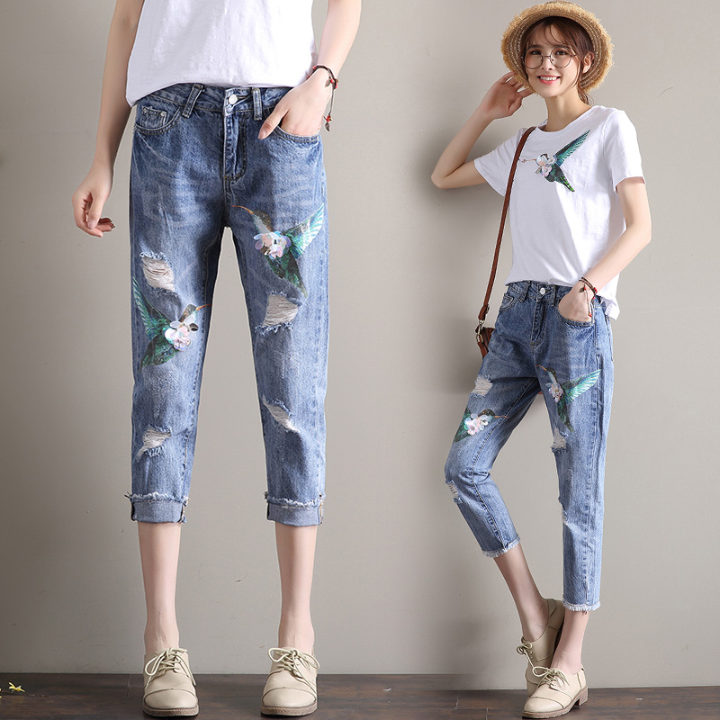 Online Get Cheap Rhinestone Capri Jeans -Aliexpress.com | Alibaba ...