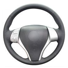Diy Швейные on из искусственной кожи крышка рулевого колеса