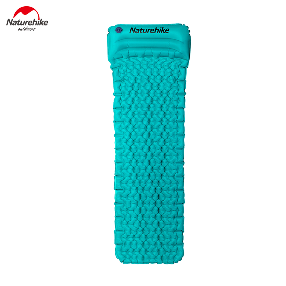Naturehike Self Inflate Moisture-proof Mattress With Pillow Ultralight TPU Camping Mat NH17T024-T