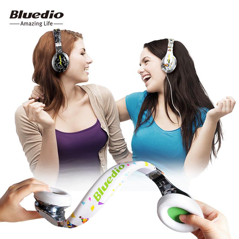 Prix pour D'origine Bluedio Un (Air) Nouveau Modèle Bluetooth casque/casque À La Mode sans fil casque pour la musique pour MP3