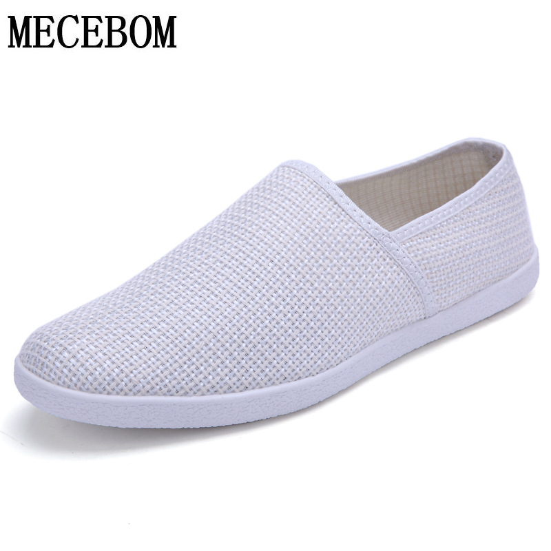 Men's Casual shoes high quality loafers footwear canvas shoes breathable flats hand-made Slip on flats size 39-44 C12M high quality canvas men casual shoes breathable fashion footwear male loafers shoes black mens shoes sales flats walking shoes