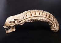 Alien model czaszki żywica rzemiosło dekoracji Halloween model darmowa wysyłka w Nauki medyczne od Artykuły biurowe i szkolne na