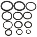 R134A  50PCS Hot Sale Rubber O Ring O-Ring Washer Seals Assortment Black black rubber o rings