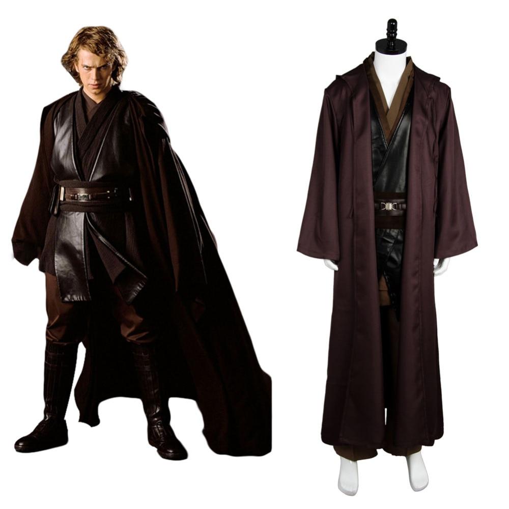 Kids Anakin Skywalker Robe Cloak Star Wars Anakin Skywalker Cosplay Costume Robe