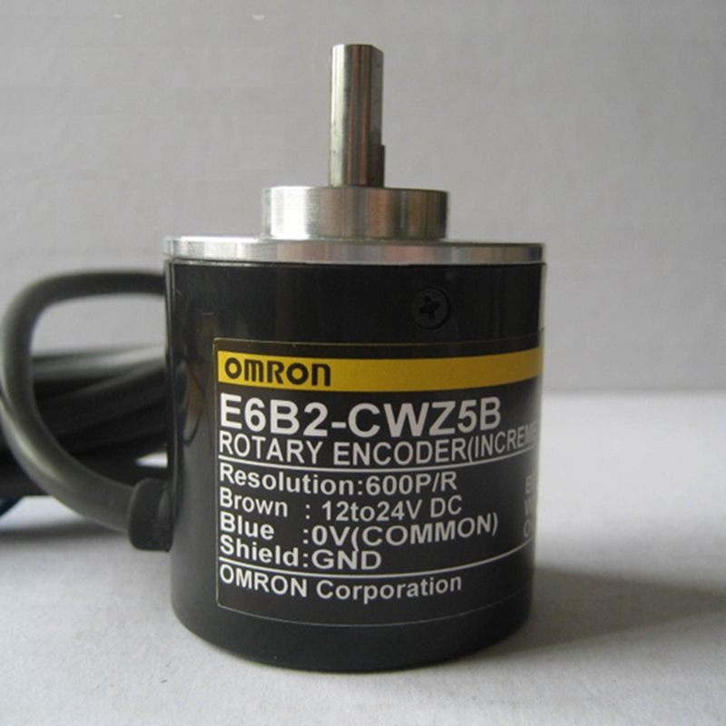 E6B2CWZ5B OMRON Rotary Encoder E6B2-CWZ5B 2500 2000 1800 1024 1000 600 500 400 360 200 100 60 40 30 20P/R 12-24v free shipping omr rotary encoder e6b2 cwz5b 2500p r e6b2cwz5b 2500ppr new in box free manual and installation instruction